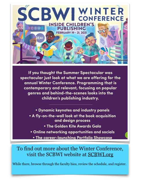 SCBWI Web page